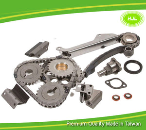 Replacement Timing Chain Kit Fits for 1991-1994 Nissan Sentra NX 200SX 1.6L DOHC Engine:GA16DE with Gears - #HJ-49116