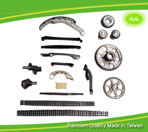 Timing Chain Kit Fit Nissan Almera Primera X-Trail 2.2L Diesel YD22DDT/YD22DDTi with Gears - #HJ-49129-OR