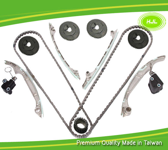 Timing Chain Kit For NISSAN Titan Armada Patrol Infiniti QX56 5.6L VK56DE w/Gear - #HJ-49170