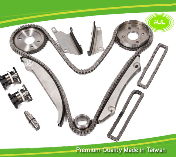Timing Chain Kit Fit Chrysler 300 Concorde Tntrepid Sebring, Dodge Intrepid Charger Magnum Stratus 2.7L DOHC 2002-06 - #HJ-44016