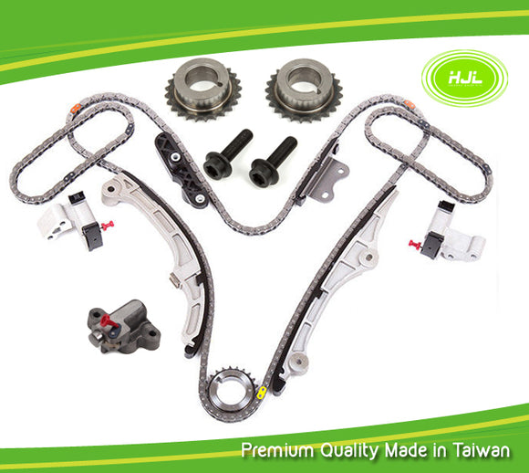 Timing Chain Kit For FORD Edge Taurus Flex Lincoln MKT MKZ V6 3.5L 07-10 w/Gears - #HJ-04191-F