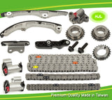 Timing Chain Kit For Mazda CX-9 Mazda 6 V6 3.5L 3.7L V6 DOHC 07-10 w/Gears - #HJ-31191-F