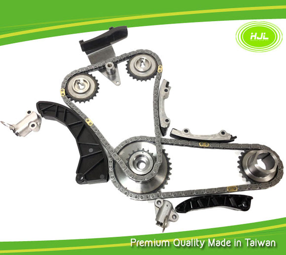Timing Chain Kit For KIA Carens Rio Soul Venga Picanto 1.4 1.5 1.6 CRDi+Gears - #HJ-42002-SB