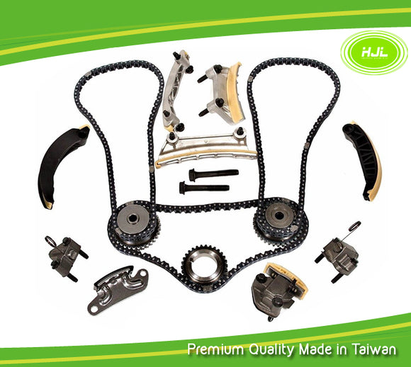 Replacement Timing Chain Kit Fits for SAAB 9-3 9-4X 9-5 2.8L Turbocharged B284 B284R 2006-11 - #HJ-92005
