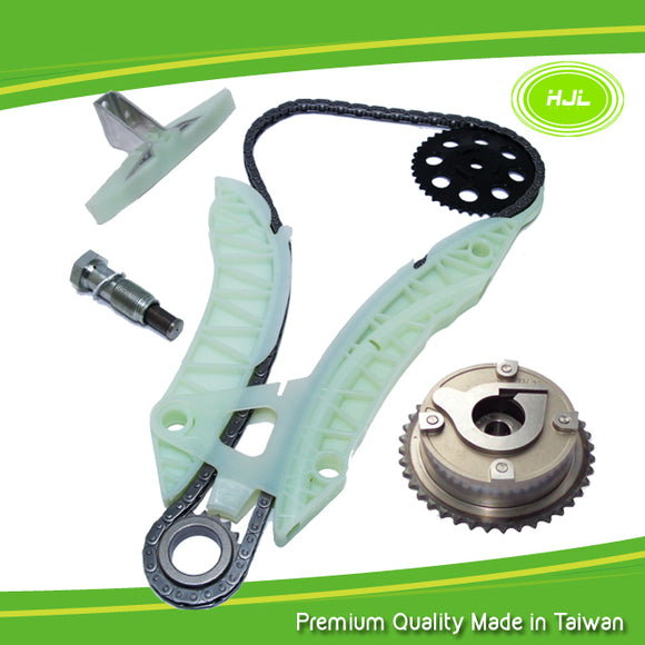 TIMING CHAIN KIT+VVT GEAR FOR PEUGEOT 207 308 3008 5008 RCZ 1.6L TURBO THP EP6DT - #HJ-67004-V