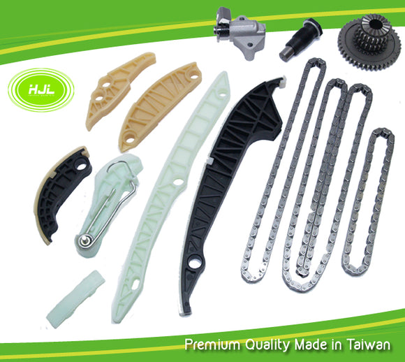 Timing Chain Kit For VW TIGUAN PASSAT / JETTA / GOLF GTI 2.0 L Audi A3 EA888 2008-11 - #HJ-24012
