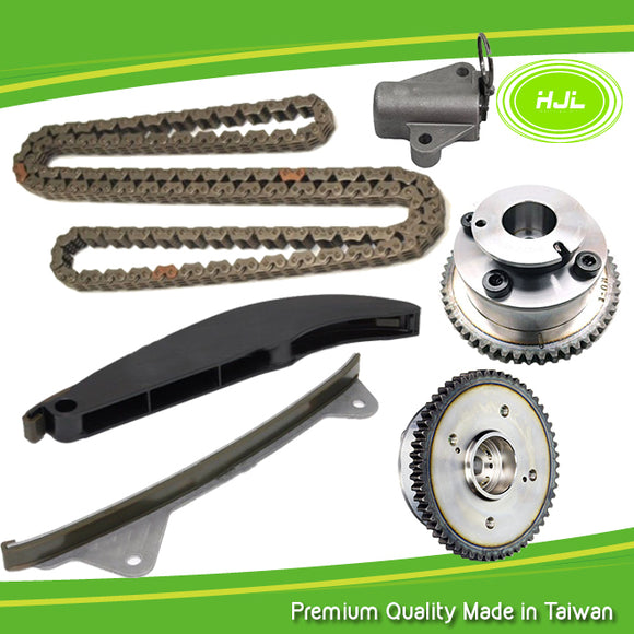 Timing Chain Kit+2 CVVT Gears For Hyundai Elantra 1.8 Kia Soul 2.0 2011-2014 - #HJ-41036-V