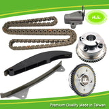 Timing Chain Kit+2 CVVT Gears For Hyundai Elantra i45 1.8 2.0 Kia Soul 2.0 11-13 - #HJ-41036-V