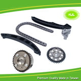 Timing Chain Kit For Audi A1 A3 VW Passat Skoda BLP CFNA BTS 1.6 FSI+VVT Gear - #HJ-24011-V