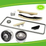 Timing Chain Kit+CVVT Camshaft Gear For Hyundai i10 i20 1.2L KAPPA G4LA 2010-19 - #HJ-41035-V