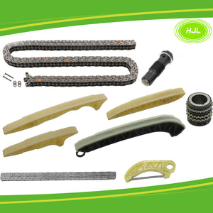 Timing Chain Kit w/Oil Pump Drive Chain For Mercedes-Benz M272 M273 M276 GL450 - #HJ-32072-F