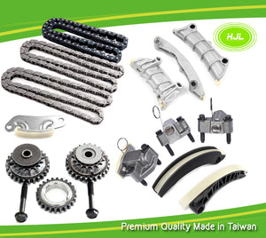 TIMING CHAIN KIT Fits ALFA ROMEO 159 Spider Brera JTS 939A0 3.2L V6 w/Gears - #HJ-16088-G