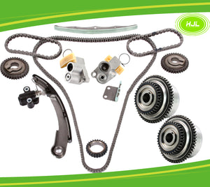 Timing Chain Kit For Nissan Altima Quest 3.5L VQ35DE+2 Camshaft VVT 04-08 - #HJ-49155-V