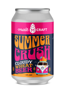Malt Summer Crush Cloudy Wheat Beer