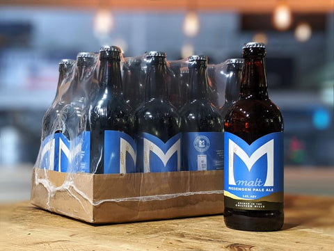 12 bottles of Missenden Pale Ale