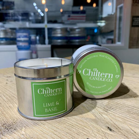 Chiltern Candle Co. Lime & Basil