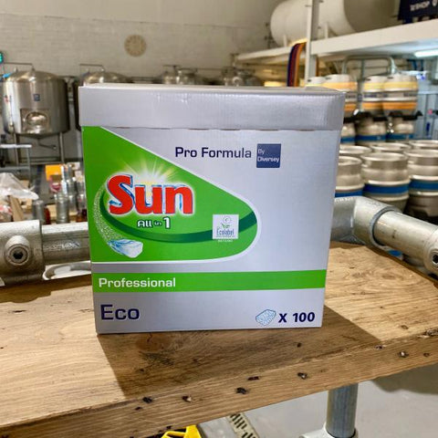 Sun All in 1 Professional Formula Dishwasher Tablets