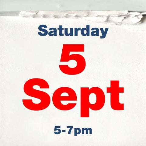 The Outsiders Arms - Saturday 5th September 5pm - 7pm