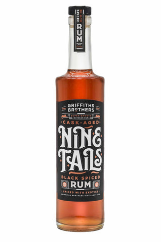 Nine Tails Black Spiced Rum 70cl