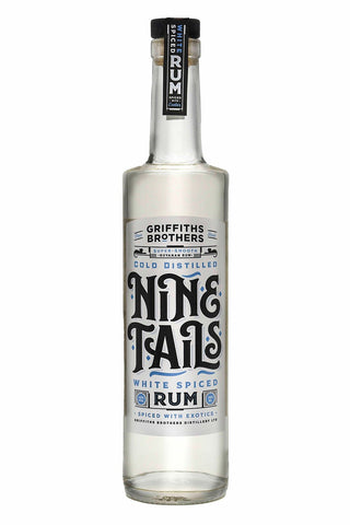Nine Tails Cold Distilled White Spiced Rum 70cl