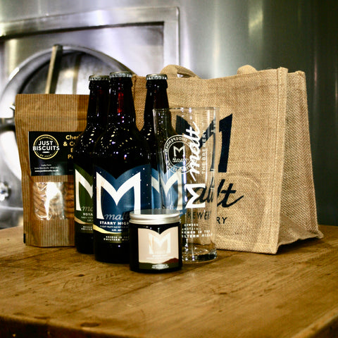 Malt Christmas Gift bag
