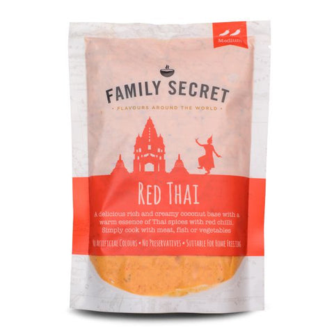 Family Secret Red Thai Curry Sauce