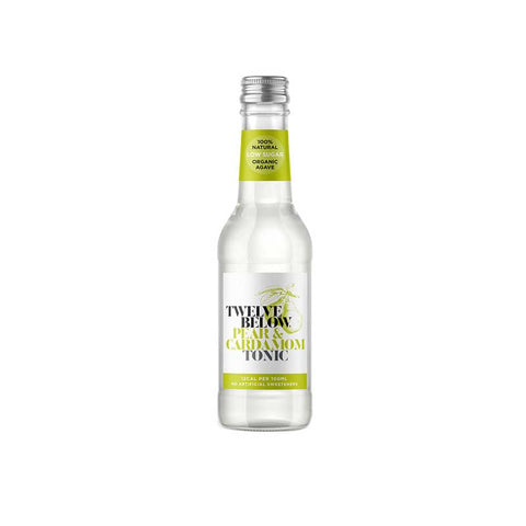 TwelveBelow Tonic Pear & Cardamom 200ml x 6