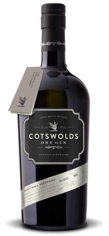 Cotswolds distillery amazing Dry Gin bottle
