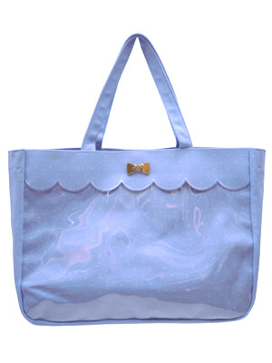 Dot Collection Bag in Blue (Sax) from SWIMMER
