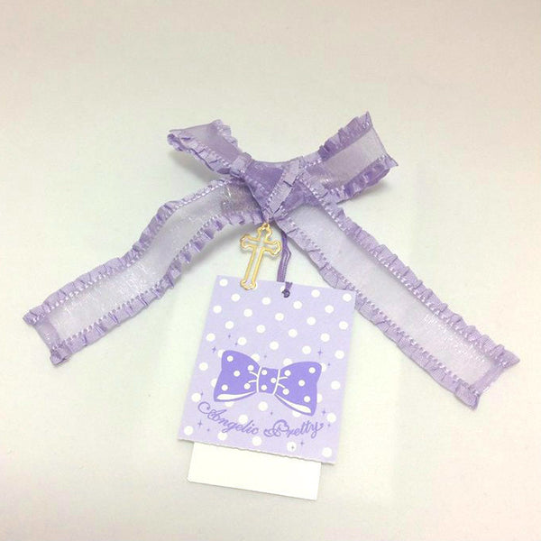 Cross Charm Clip (2015 2nd Release) in Lavender from Angelic Pretty