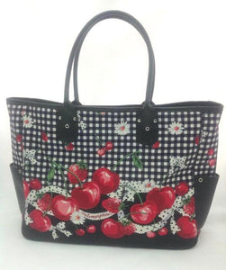 Cherry Berry Bag in Black from Metamorphose Temps de Fille