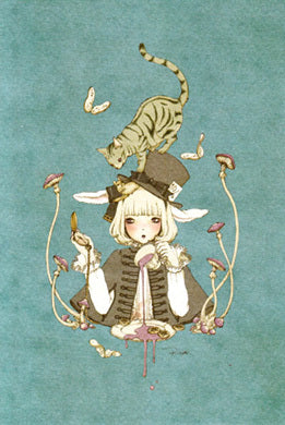 """Alice at 4PM"" Postcard from Imai Kira (#PC-49)"