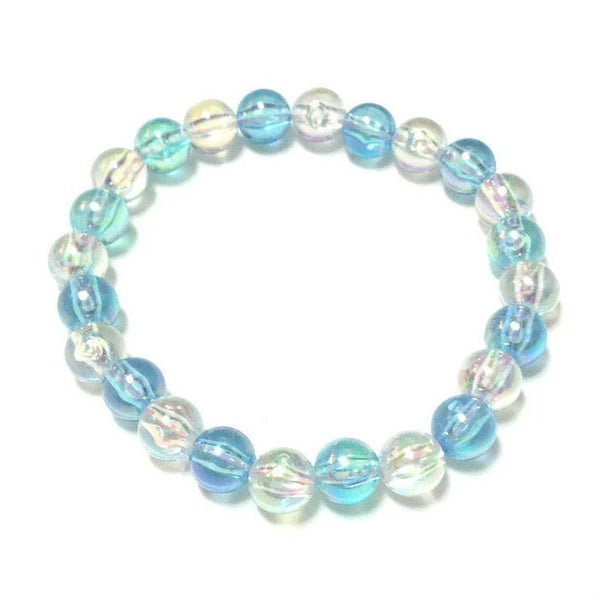 Bubbles of the Ocean Bracelet in Sax x White from Pastel Skies