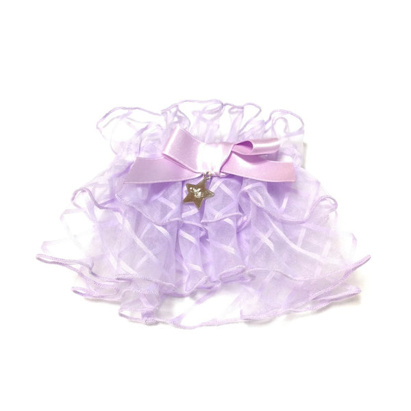Airy Star Gate Scrunchy in Lavender from Angelic Pretty