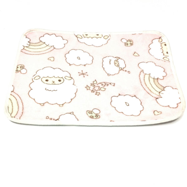 Animal Printed Mat (Sheep) in Pink