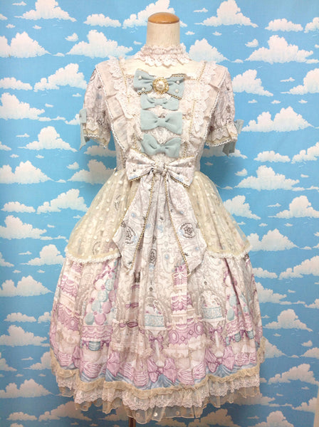 Antoinette Decoration OP (One Piece) in Ivory from Angelic Pretty **Currently on payment plan**