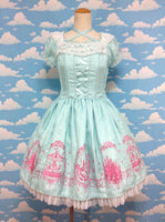 Aqua Princess OP (One Piece) in Mint from Angelic Pretty
