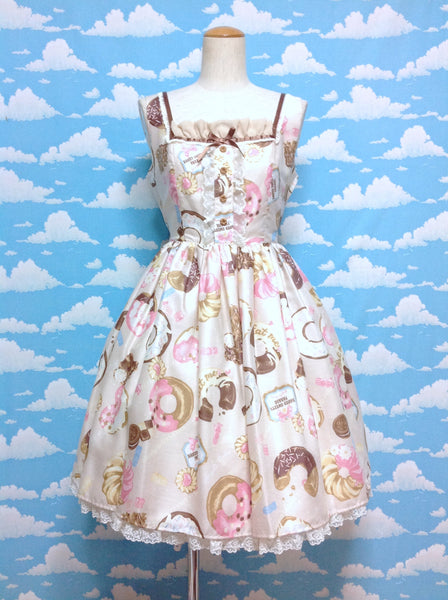Baked Sweets Parade JSK in Beige from Angelic Pretty
