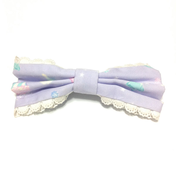 Candy Sprinkle Barrette in Lavender from Angelic Pretty