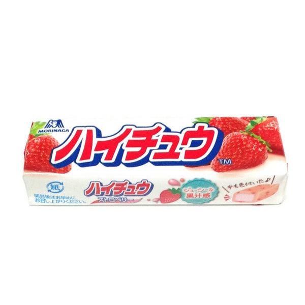Hi‐Chew with Strawberry Taste from Morinaga