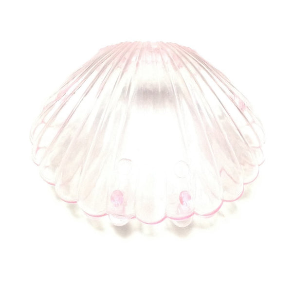 Clear Sea Shell Case in Pink