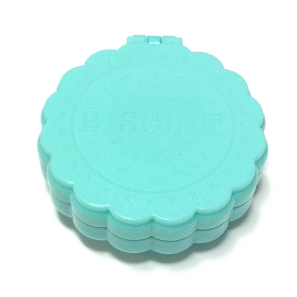Compact Biscuit Mirror Brush in Mint
