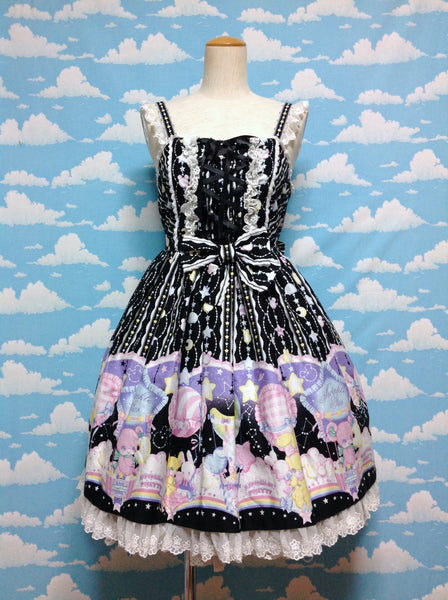 Cotton Candy JSK in Black from Angelic Pretty