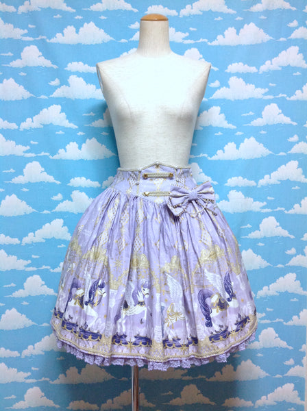Crystal Dream Carnival Skirt in Lavender from Angelic Pretty