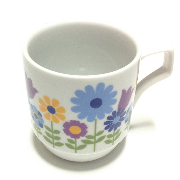 Cute Vintage Mug (Mug A, Garden) from Chocoholic