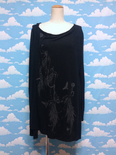 Decoration Cutsew in Black from Black Peace Now (for Men)