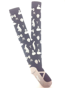 Deer, Animals, Ribbons and Berries OTKs in Black x Grey from Emily Temple Cute