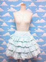 Dot Sherbet Skirt in Mint from Angelic Pretty