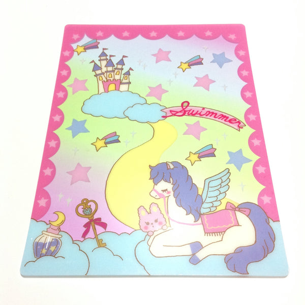 Dreaming Mat (Fantasy) in Pink from SWIMMER