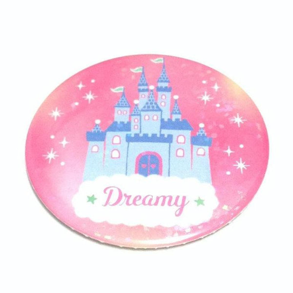 Dreamy Round Badge (Castle) from SWIMMER